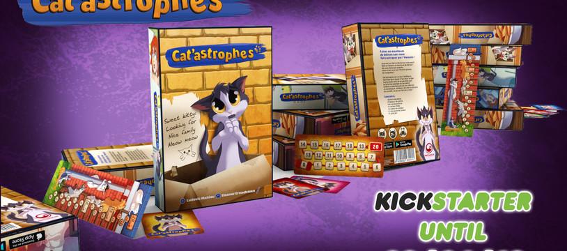 J+1 : Cat'astrophes financé en moins de 2h sur Kickstarter! Déjà plus de 300% funded!
