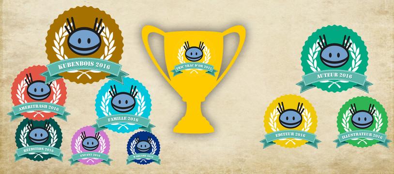Tric Trac d'Or 2016, les vainqueurs par catégories sont...