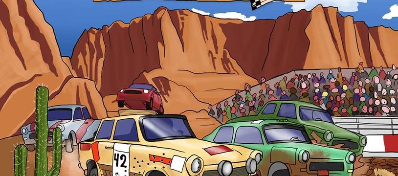 Canyon Cup  :  une pépite dans le désert pour ce jeu de course déglingué.