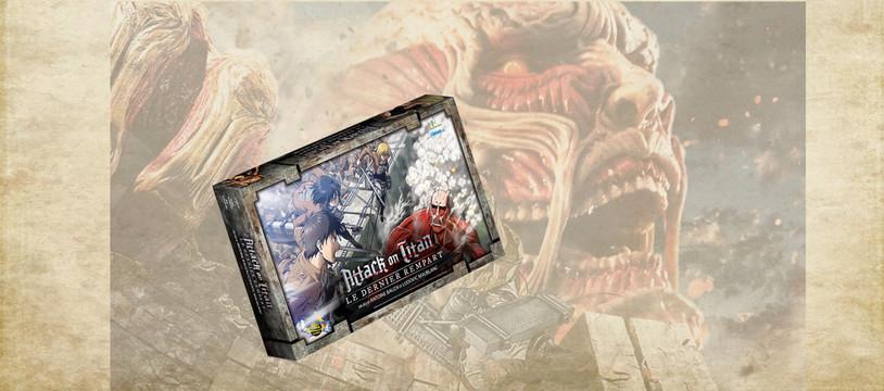 Attack on Titan - Le dernier rempart : Must Kill All Titans !
