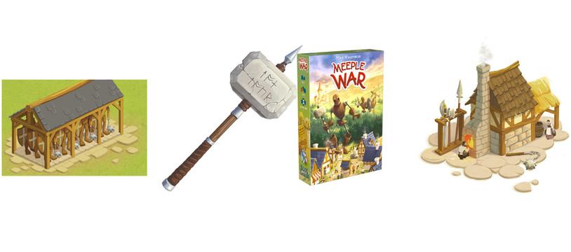 Meeple War : les p'tits s'rebiffent !