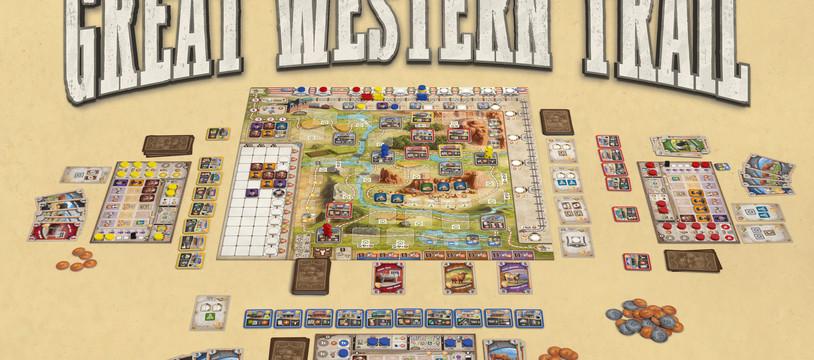 Great Western Trail : Wayne dégaine chez Gigamic