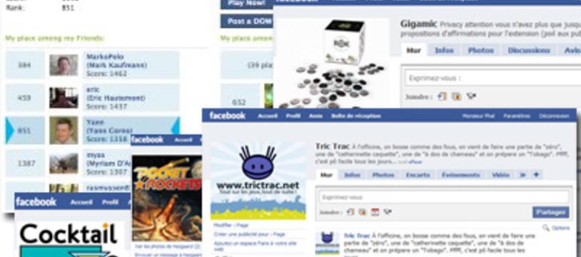 Days of Wonder, Facebook et des jeux à gagner