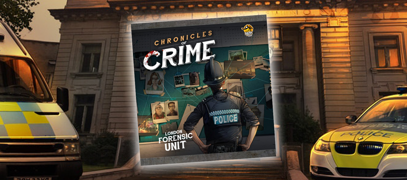 Chronicles of Crime : crimeboard sur pellicule