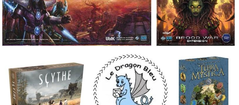 Décembre au Dragon Bleu !