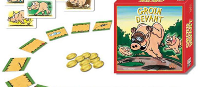 """""""Groin devant"""", un jeu pur porc chez Oya"""