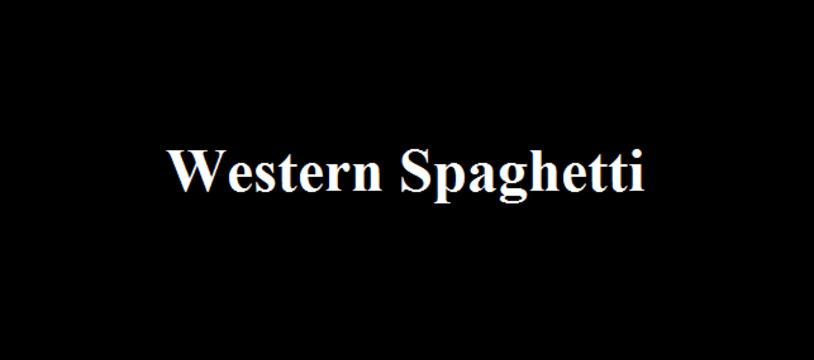 Le jeu gratuit de la semaine :  Western Spaghetti