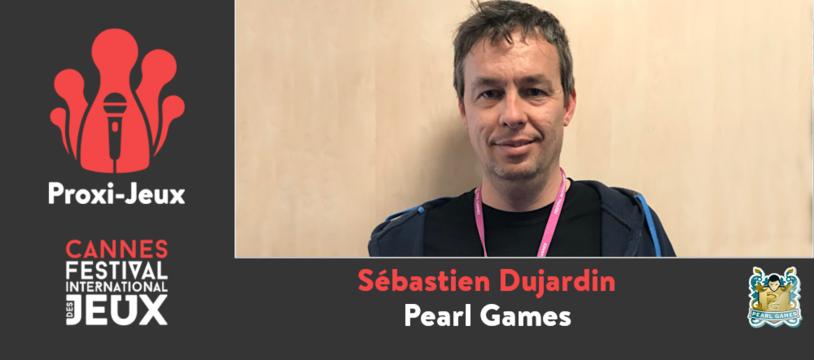 [FIJ Cannes 2020] Sébastien Dujardin – Pearl Games