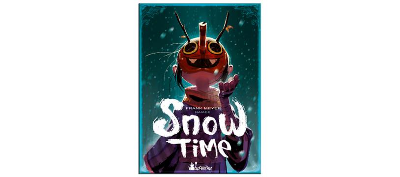 Snow Time : carnet d'illustrations de Naïade