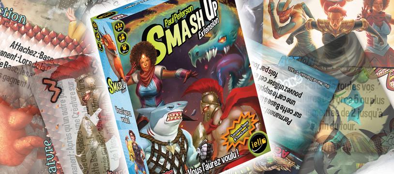 Smash'Up : Vous l'Aurez Voulu ! : la raclée méritée