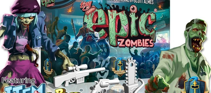 Tiny Epic Zombies de Gamelyn Games