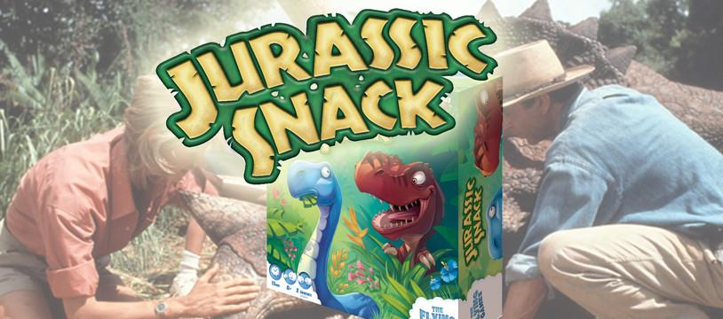 Jurassic Snack : Saignante ou à Points, votre salade ?