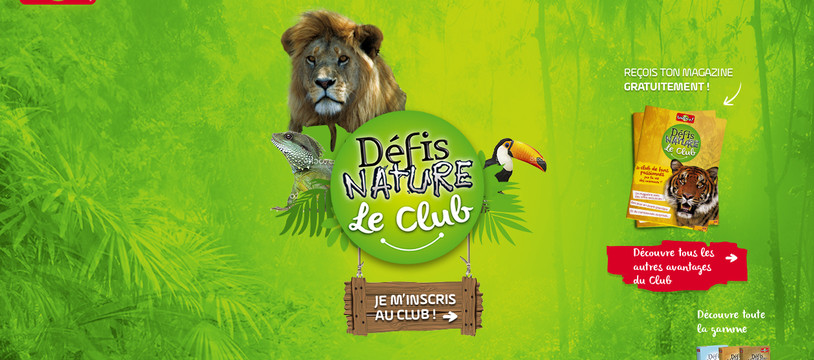 Lancement du Club Défis Nature