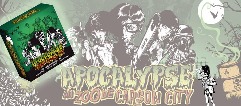 Apocalypse au Zoo de Carson City : En noir, le sang, ça tâche moins !