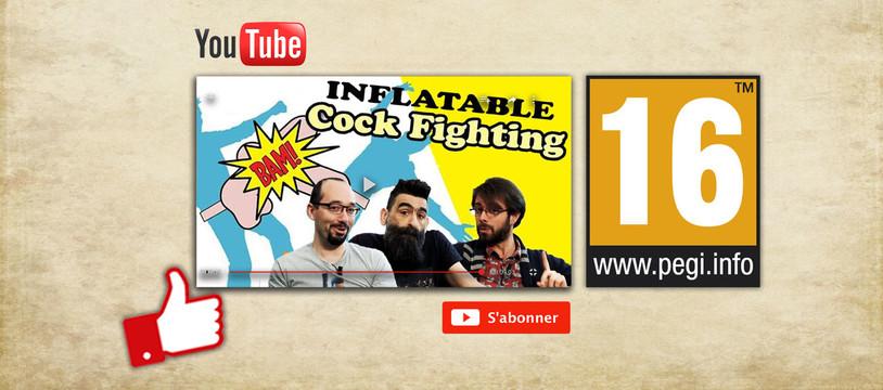 Un jeu PEGI 16 sur notre chaine YouTube !