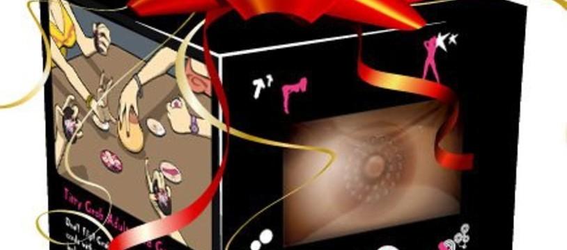 Titty Grab : De mâle en pis