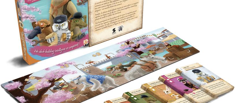 La vallée des marchands : L'ère des maîtres du commerce + l'extension les castors communs méthodiques de Sami Laakso édité par Bragelonne Games (pour la VF)