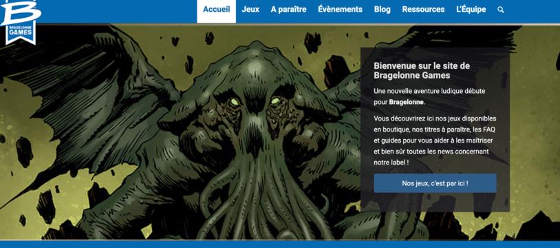 Le site de Bragelonne Games est en ligne !