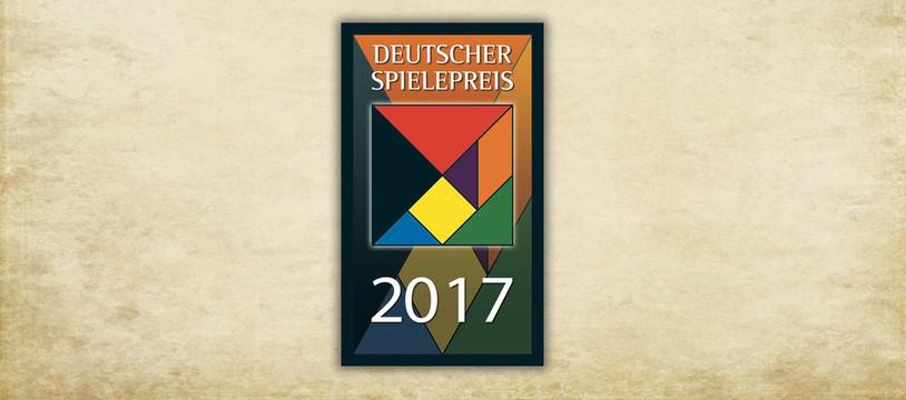 Le Deutscher Spielepreis 2017 est...