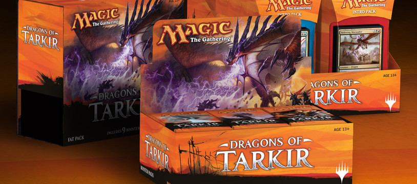 Magic the Gathering : les Dragons de Tarkir approchent