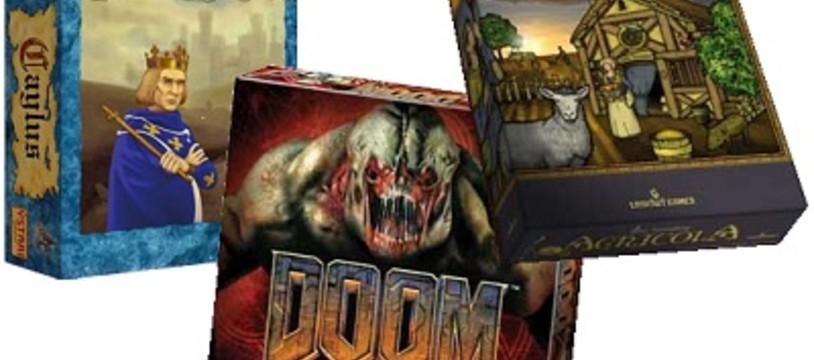 [Hem présente] Caylus, Doom & Agricola en vidéo !