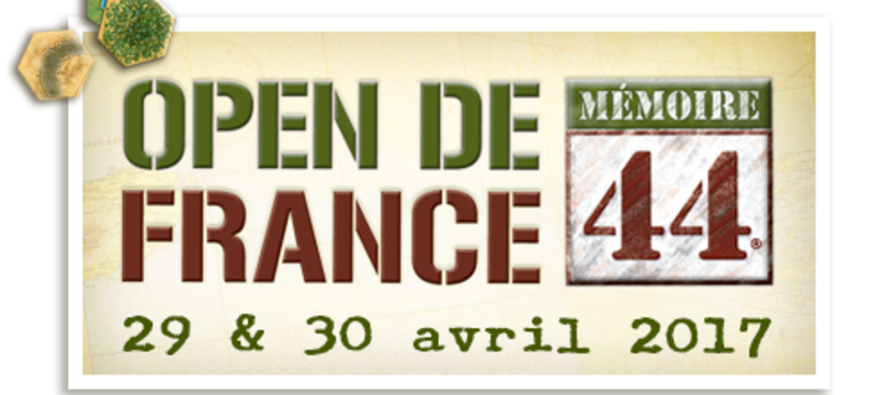 Inscriptions à l'Open de France de Mémoire 44  à Orléans - 29 & 30 avril