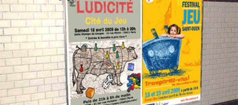 Deux manifestations ludiques à Paris