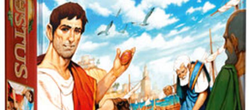 Augustus dans les boutiquus