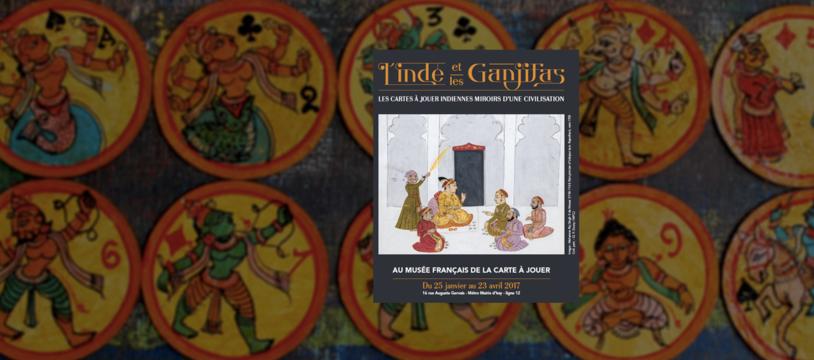 L'Inde et les Ganjifas, une expo ludique