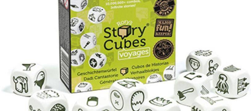 Rory's Story Cubes Voyages : Partir c'est un peu jeter un dé