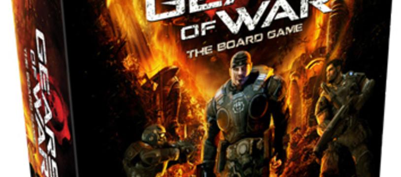 Gears of War sur un plateau