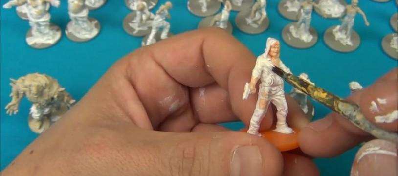 Vidéorègle/Tuto: Peindre ses Figurines de Zombicide