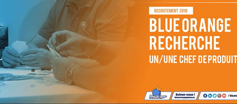 Blue Orange recrute un-e chef-fe de produit