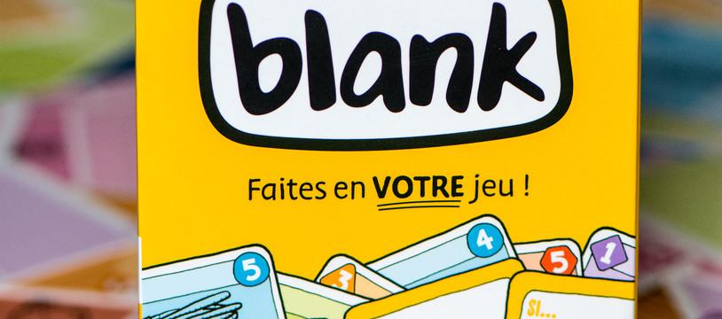 BLANK! Du jeu de défausse pour créateurs en herbe !
