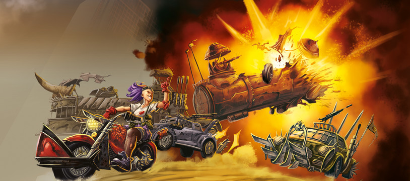 HIGHWAY TO HELL - KICKSTARTER