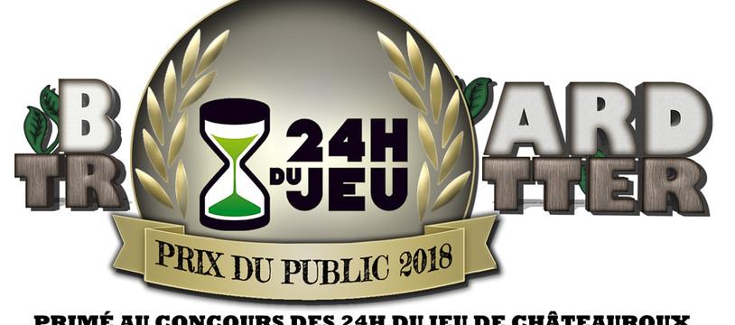 Board Trotter - Prix du public aux 24H du Jeu de châteauroux
