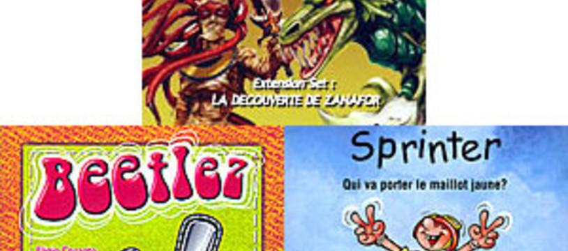 [CyBeRFaB] Les derniers ajouts : Beetlez / Sprinter / La Découverte de Zanafor