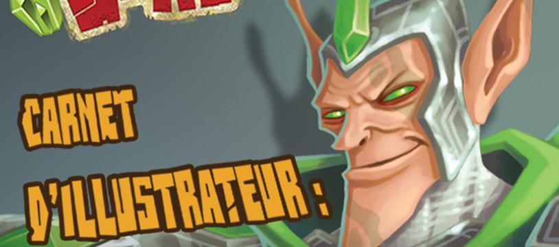 Carnet d'illustrateur : Clash of Rage (Djib) - Partie 4 !