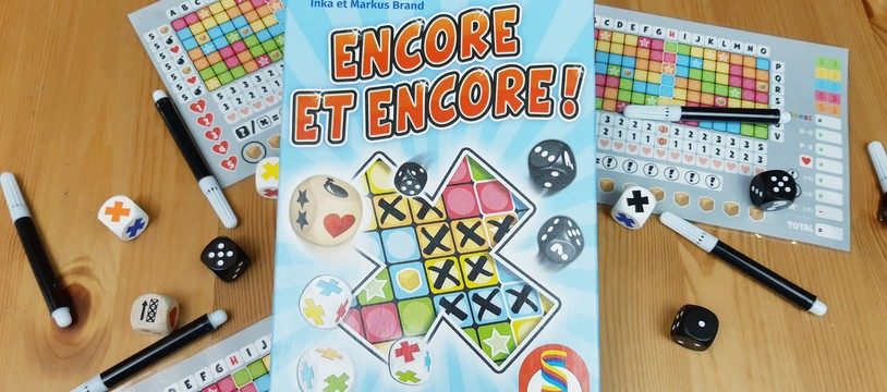ENCORE un Roll & Write !