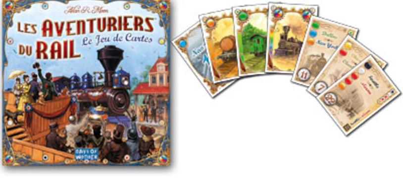 Les Aventuriers du rail, le jeu de cartes dans la Tric Trac TV !