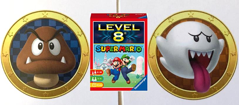 Level 8 Super Mario, Super Rami et les enfants