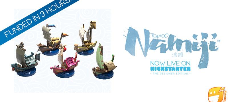Merci à tous ! Namiji est un succès sur Kickstarter