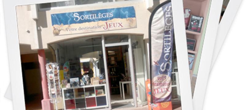 Une boutique estivale en bord de mer