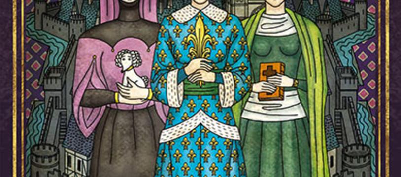 Les Dames de Troyes arrivent en ville