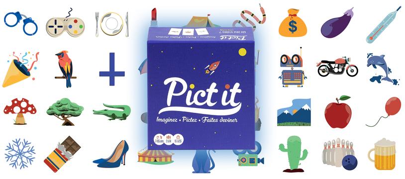 Pict It : de l'illu plein la langue