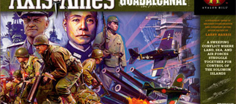 Axis & Allies Guadalcanal en novembre !
