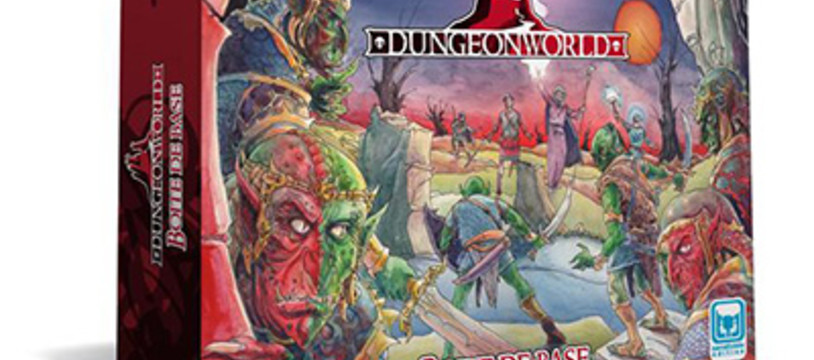 Dungeon World est en boutique