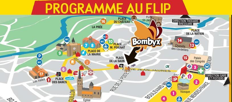 Bombyx fait escale au Flip