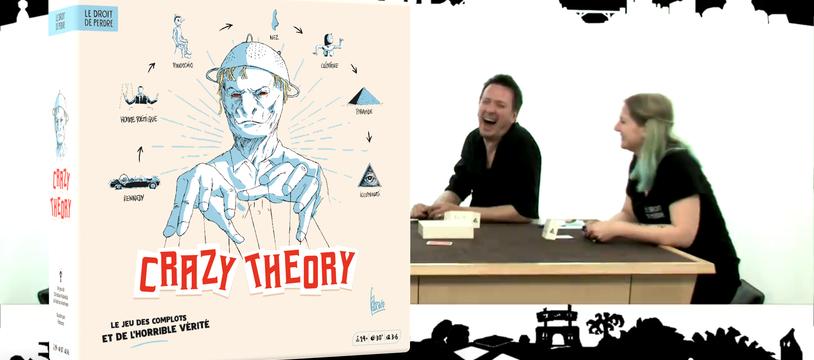 J-1 avant la sortie du Crazy Theory...