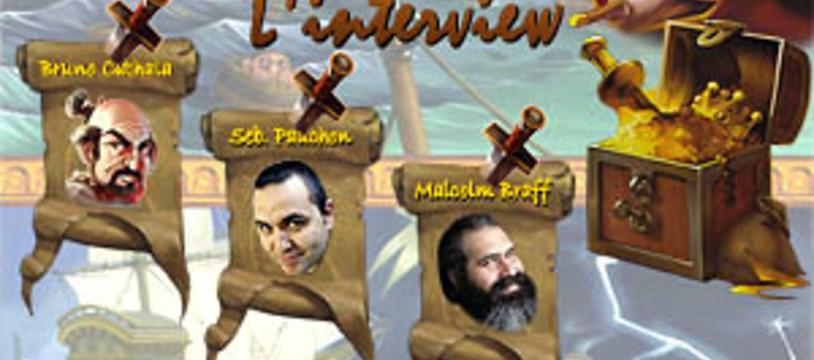 [CyBeRFaB] Jamaica : L'interview de Sébastien Pauchon, Malcolm Braff et Bruno Cathala